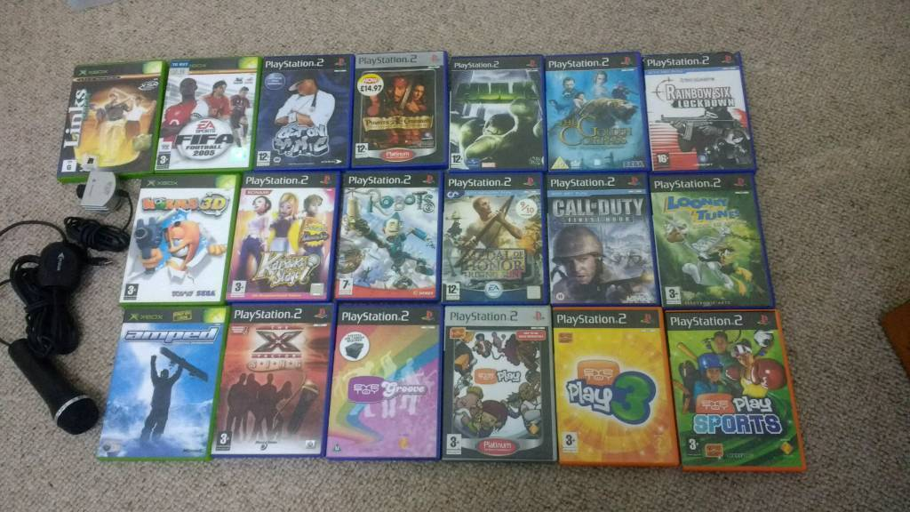 Playstation 2 and xbox games