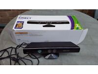 BOXED KINECT SENSOR - FOR THE XBOX 360 CONSOLE