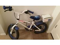 "Apollo police patrol bike 14"" with stabilisers for sale"