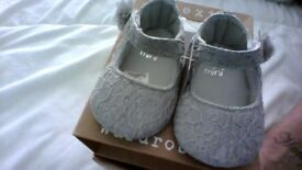 Next baby girls shoes