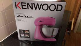 KENWOOD MX316 Patissier Food Mixer - Pink
