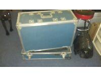 Guitar amp flight case