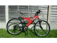 "Mens trax 26"" wheel mountain bike"