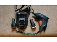 Bosch cordless screwdriver 3.6v