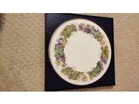 Royal Worcester Vine Harvest Cake Plate