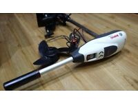 Electric outboard trolling motor fishing tender