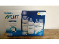 Avent Newborn Starter Set never used