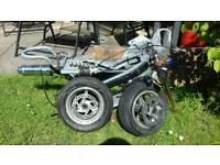 Mini moto frame and spares