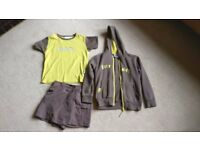 Brownie uniform - t shirt, hoodie and skort age 7 - 8
