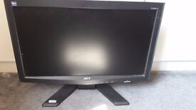 ACER monitor, used for a month, in box