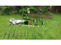 golf clubs- complete set and accessories