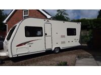 2009 Avondale Dart 525 caravan - 4 berth with fixed bed, full awning and remote controlled movers