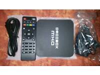 MXQ droibox android tv boxes 4.4 kitkat with remote & leads