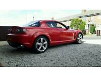 Mazda RX8 231psi 53plate SPARES OR REPAIR NONE RUNNER