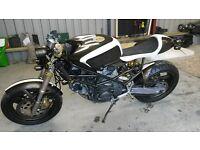 Ducati 900 monster café racer swap part/ex