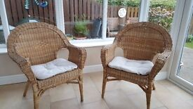 Conservatory Chairs x2