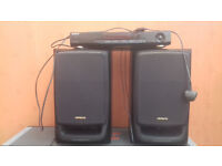 SONY AMPLIFIER+AIWA SPEAKERS