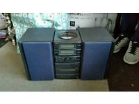 JVC hifi for sale cd, radio, cassette and aux in