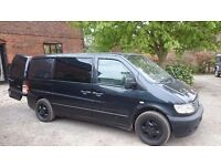 Mercedes Vito 2003, 6 seaters, 113 CDI, Stop & GO but no MOT! sold as spares