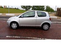 TOYOTA YARIS COLOUR COLLECTION 1.0 PETROL HATCHBACK MOT MAY 2018