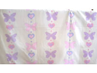 Butterfly Curtains for children's room (2 pairs)