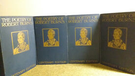 Details about The Poetry of Robert Burns Illustrated Centenary Edition 1896 4 Volumes