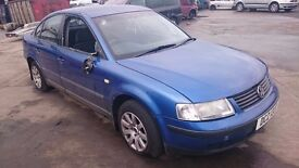 1999 VOLKSWAGEN PASSAT SE, 1.9 TDI, BREAKING FOR PARTS ONLY, POSTAGE AVAILABLE NATIONWIDE