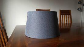 Grey lampshade - new