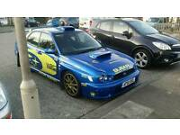 Subaru wrx with lots of extras