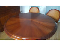 Grange Dining Room Table & 6 Chairs (immaculate condition)