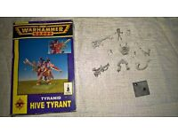 Warhammer 40k - Tyranid hive tyrant (oop)
