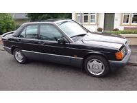 Mercedes-Benz 190 2.0 E 4dr, OUTSTANDING EXAMPLE! 1990 (G reg), Saloon