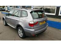 2008 BMW X3 ESTATE 4x4 80,000 Miles 1 owner full service history