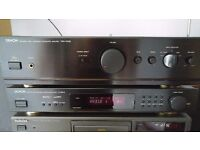 REDUCED Hi-Fi Separates - Denon PMA-250SE Integrated Amplifier & Technics SL-PG490CD Player hifi