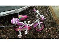 kids girls bike
