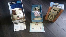 Baby Oleg Meerkat, Churchhill Dog, Brian Robot