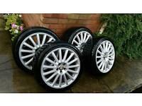 "Alfa Romeo GT 18"" Alloy Wheels x 4"