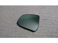 Ford Focus Mk 3 wing mirror glass, left passenger side, heated, wide-angle