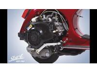 LML 125 4 T 2011 complete engine
