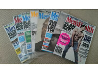 Bundle of 19 Men's health magazines from September 2014 to September 2016