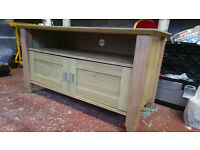 TV Cabinet Oak Effect