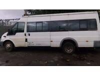 Ford transit diesel minibus 17 seater