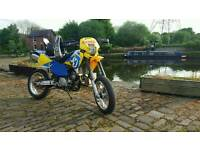 Husqvarna te 610 e grean lane supermoto ktm crf enduro off road road legal cross 52bhp