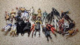 Star Wars action figures (Clone Troopers, Jedi etc)
