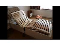 Full adjustable single electric bed