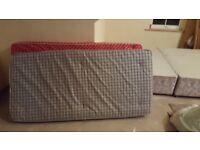 2 x single bed matresses