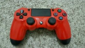 Ps4 (playstation 4) controller. wireless dualshock RED