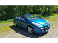 Peugeot 207 CC Convertible Car. 1.6 16V. One owner from new. Perfect convertible for the summer!