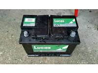 Brand new car battery RRP £69