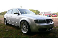 AUDI S4 V8 4.2***FULL SERVICE HISTORY***344BHP 5200£ ONLY